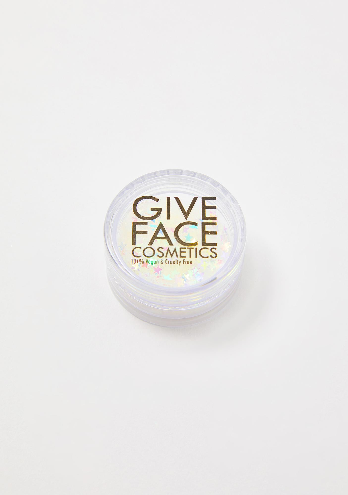 Give Face Cosmetics Orion Star Poly Shapes Iridescent Glitter