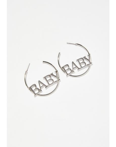 It'z All Good Hoop Earrings