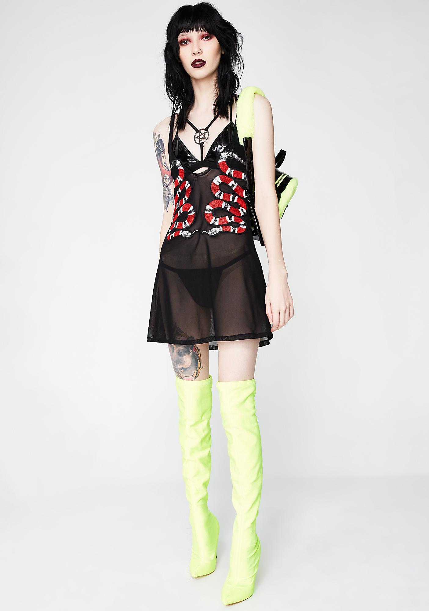 Snaky Move Cami Dress