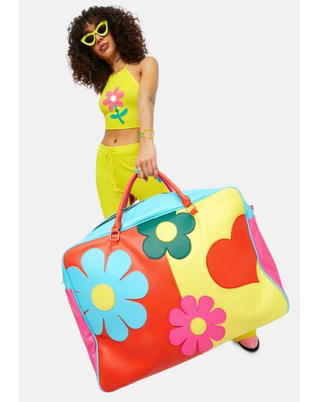 Free Luv Nation Colorblock Giant Weekender