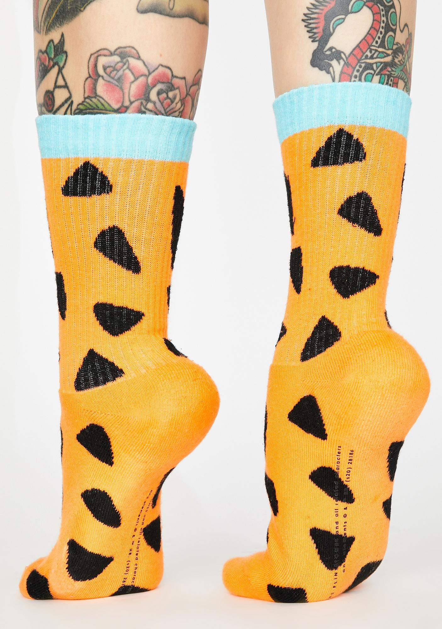 Lazy Oaf X Flintstones Fred Ankle Socks