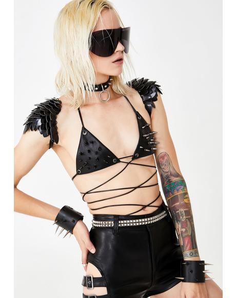 Wastelands Spiked Bra Top