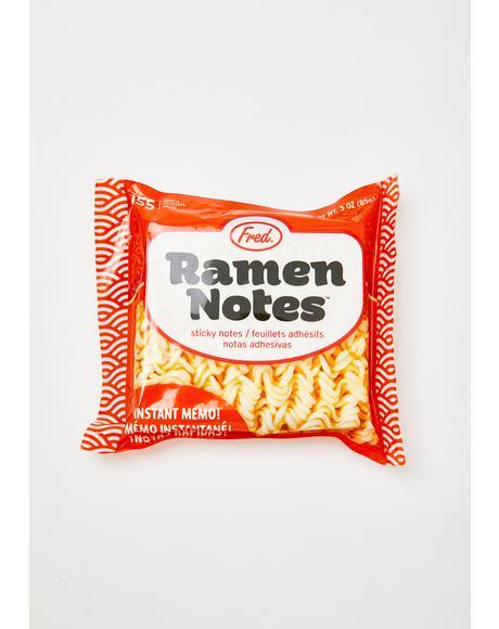 Ramen Addict Sticky Notes