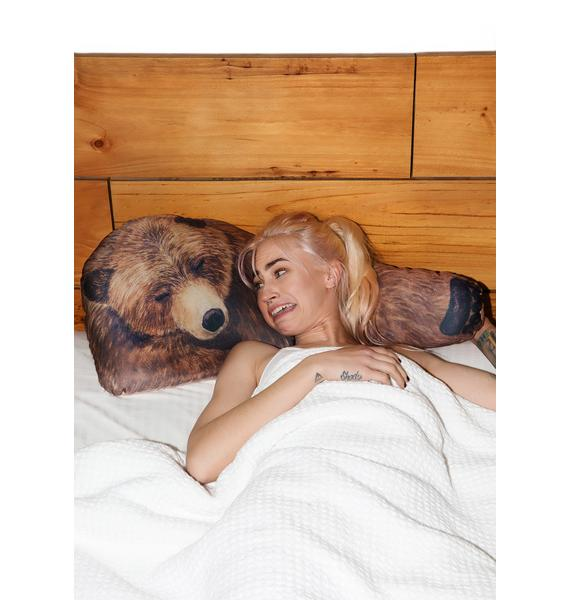 Grizzly Bear Hug Pillows