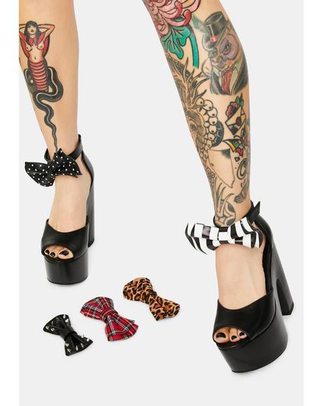 Patsy Bow Platform Heels