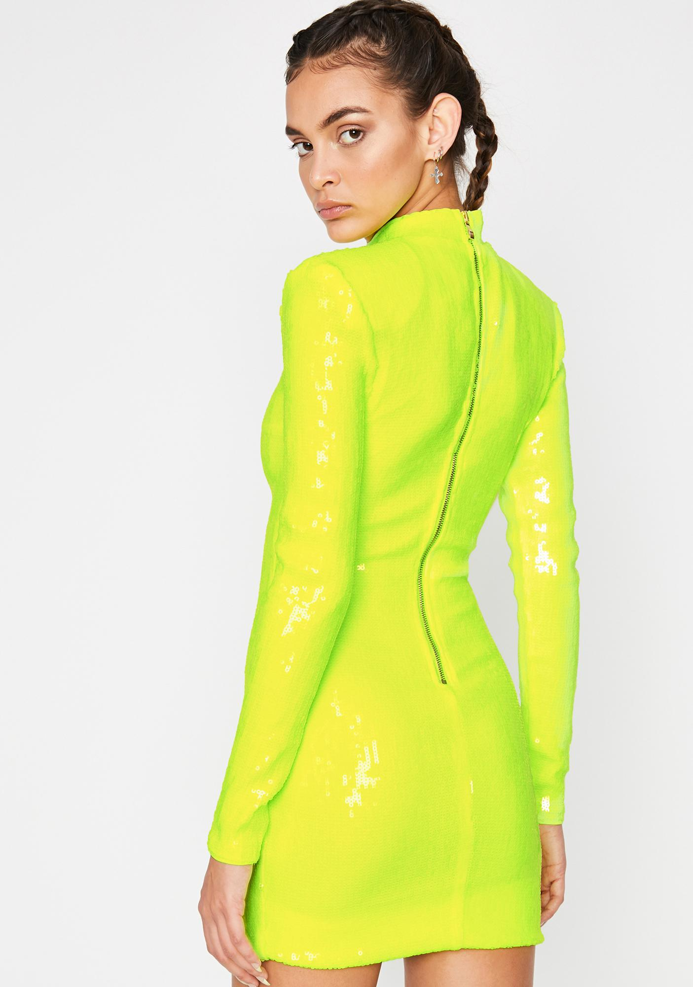 Electric Guest Listed Sequin Dress