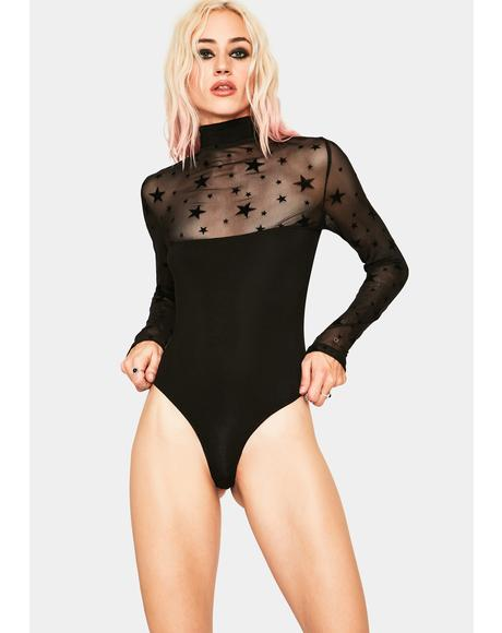Bewitching High Neck Bodysuit