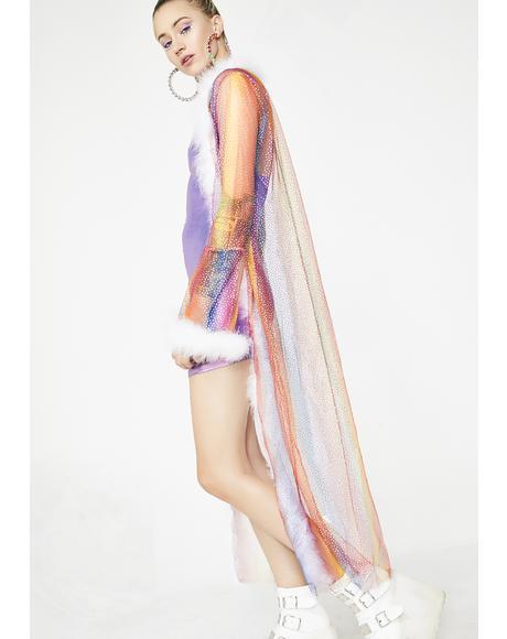 Chasing Thrills Rainbow Kimono