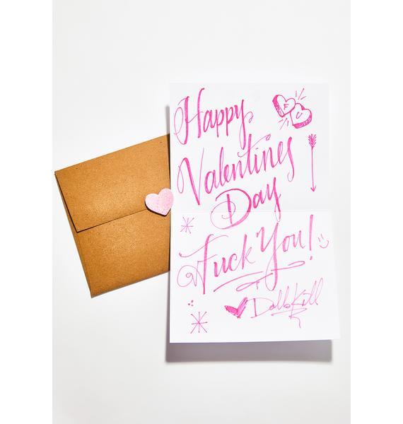 Eff You Card