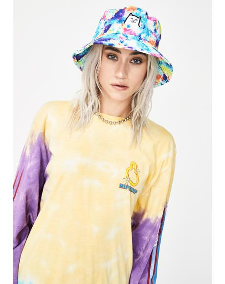 Tie Dye Lord Nermal Bucket Hat