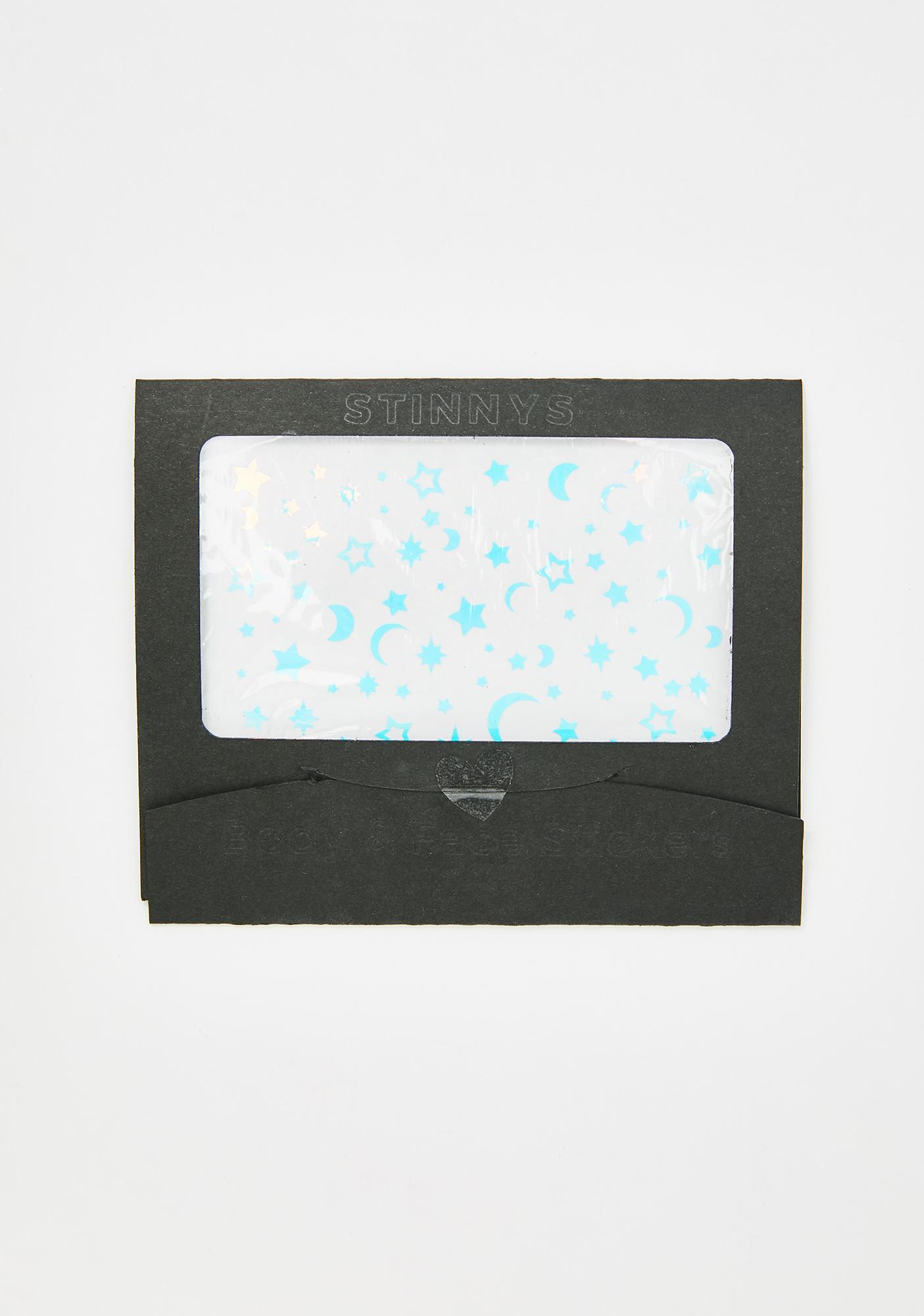Stinnys Star Lit Nights Body N' Face Stickers
