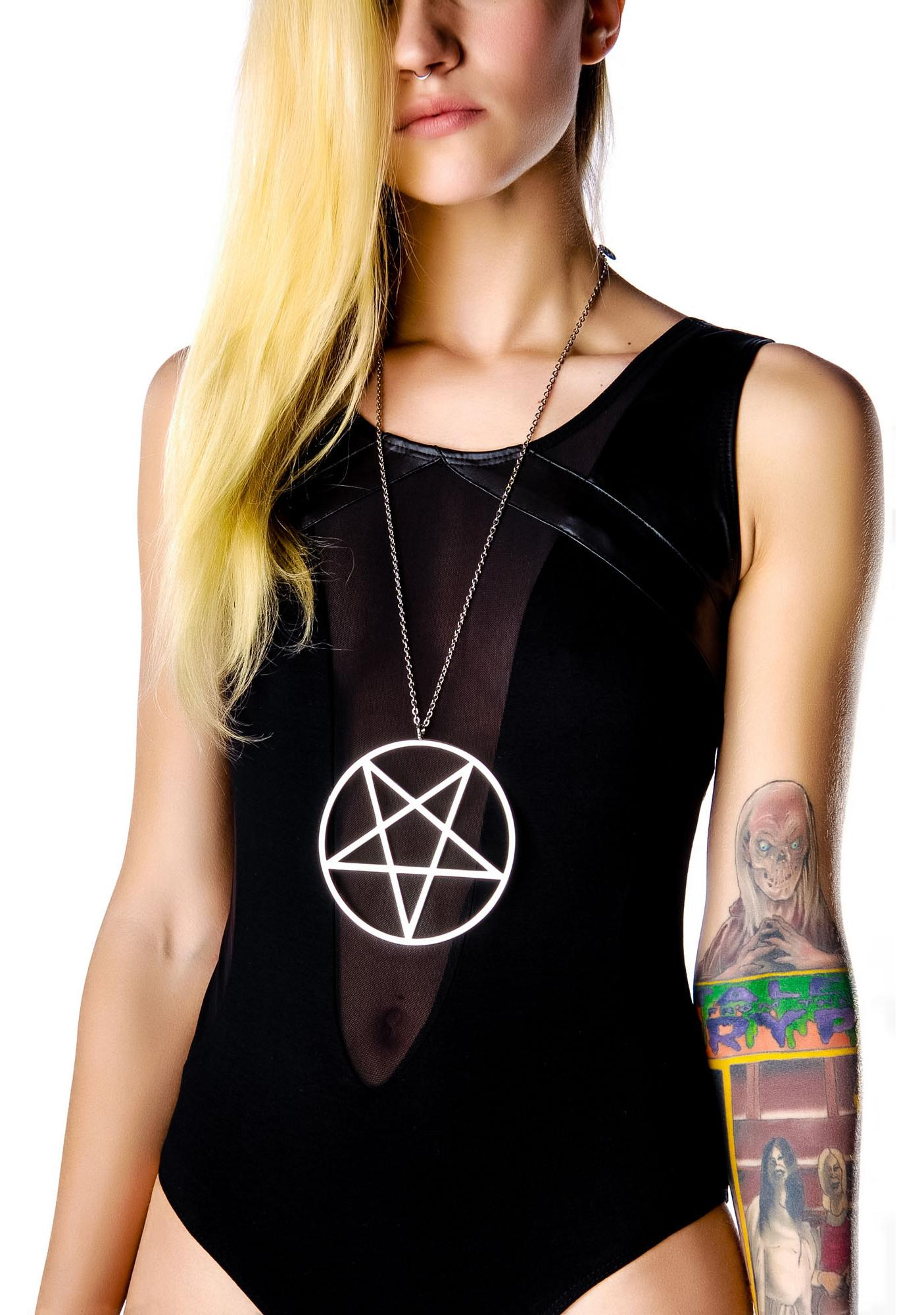 Killstar Pentagram Necklace