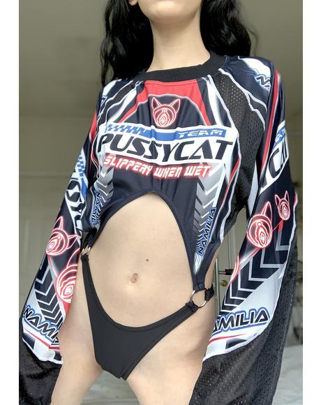 Pussycat Racing Team Bodysuit