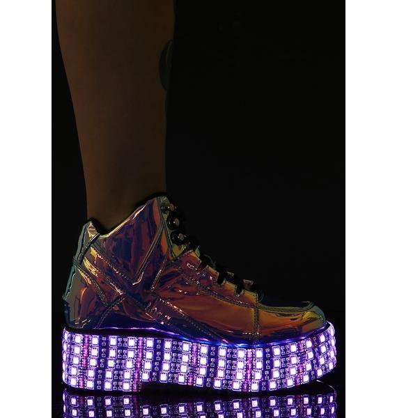 Y.R.U. Atlantis Qozmo LED Sneakers
