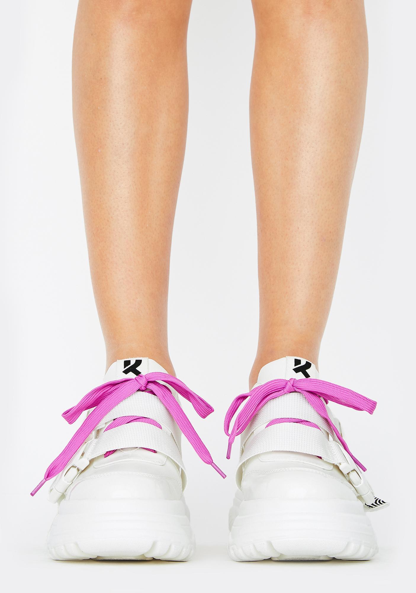 Koi Footwear Rom Futurist Platform Sneakers