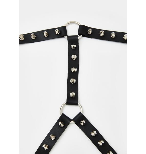 Current Mood Electric Funeral Spiked Harness