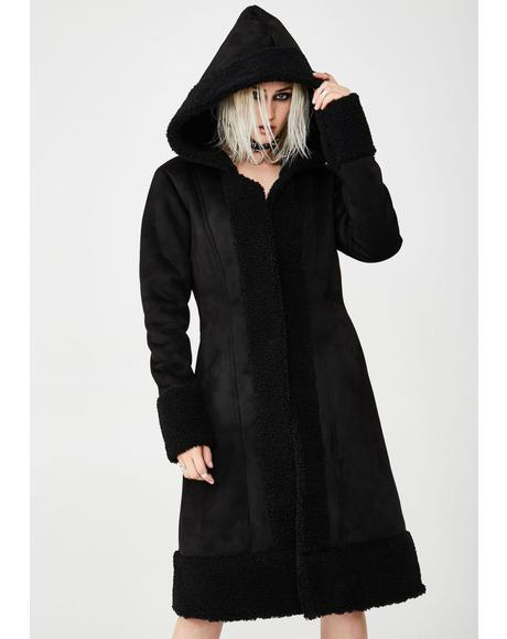 Desolate Sound Hooded Coat