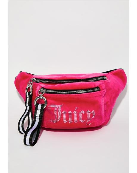 Juicy Velour Fanny Pack
