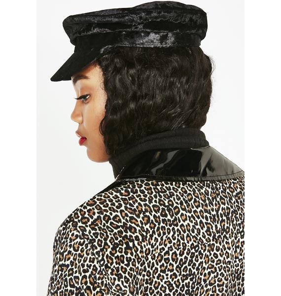 Velvetina Baker Boy Hat
