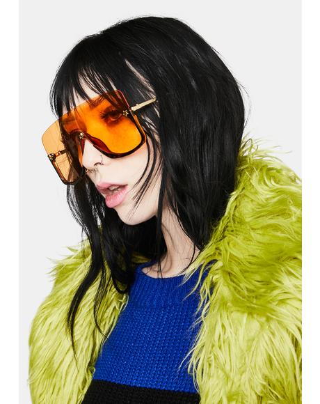 Citrus Block Da Haters Shade Sunglasses