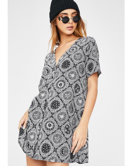 Astrology Crosena Dress