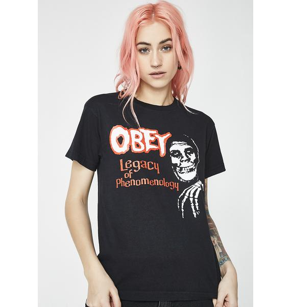 Obey x Misfits Legacy Of Phenomenology Tee