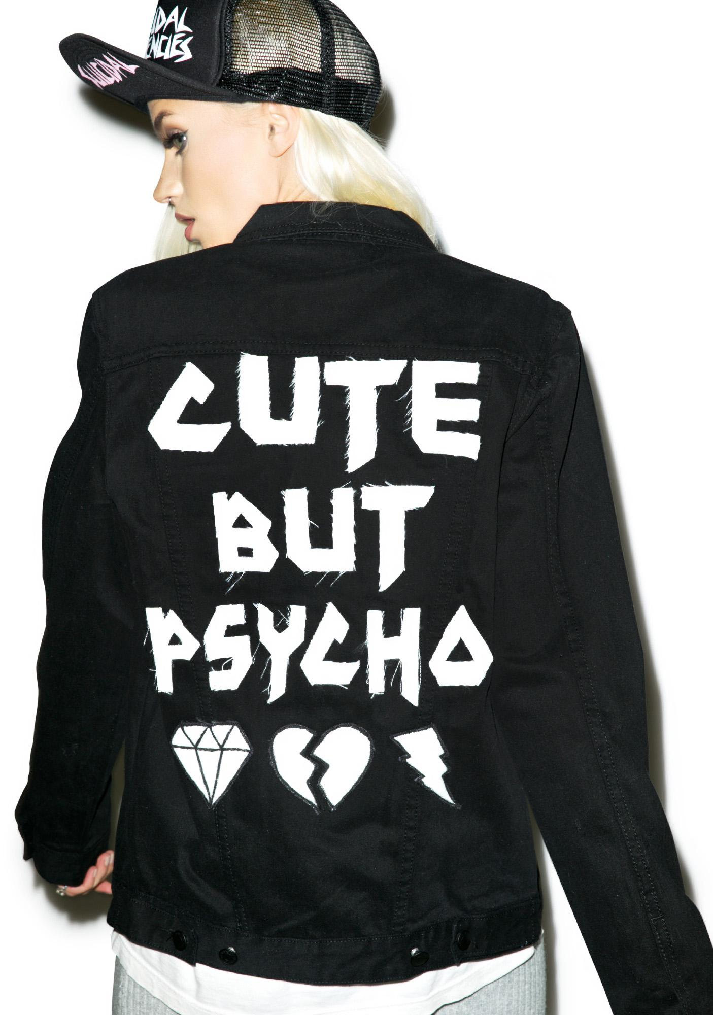 High Heels Suicide Cute But Psycho Jacket