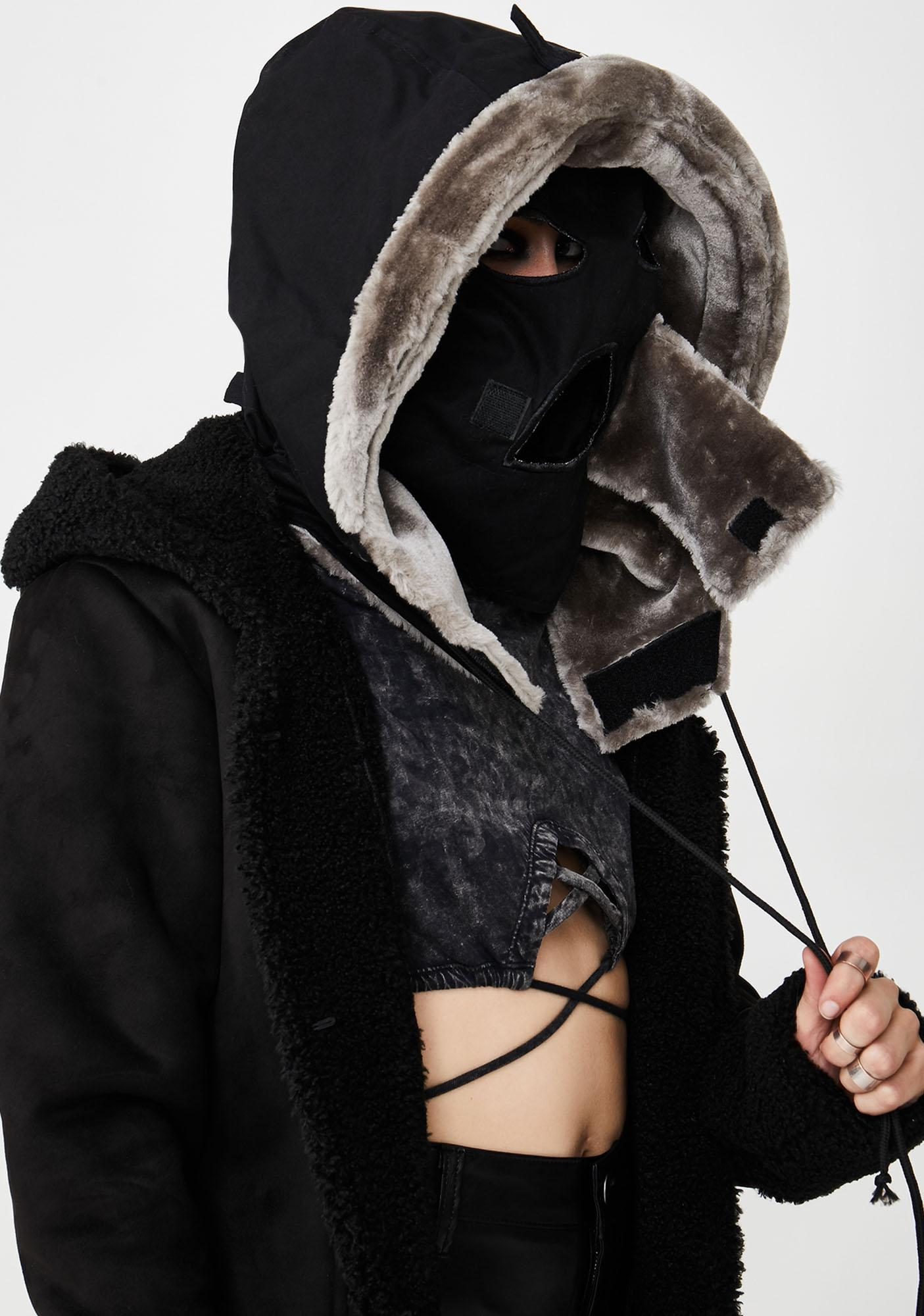 Club Exx Nocturnal Rage Hooded Mask
