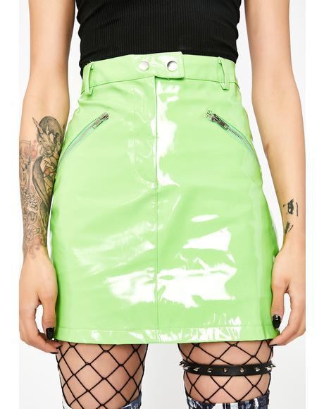 Slime Crimez Moto Skirt