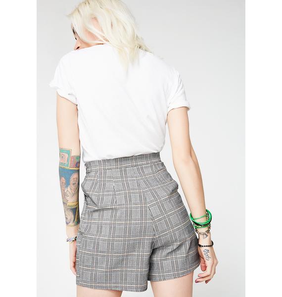 Clear The Air Plaid Shorts