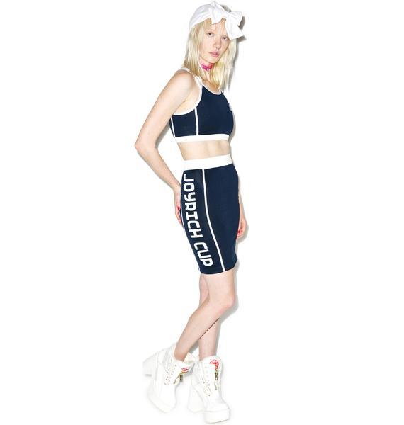 Joyrich X GIZA Tennis Club Sports Tube Skirt