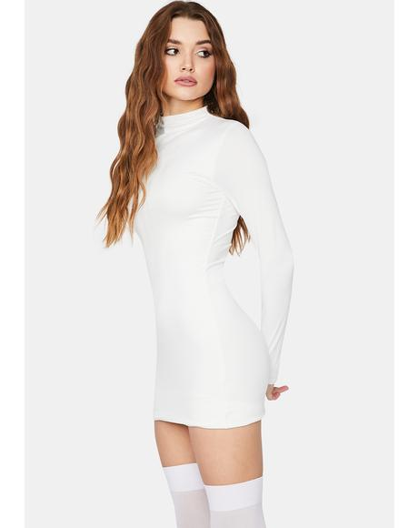 Blanc Back On Top Bodycon Dress