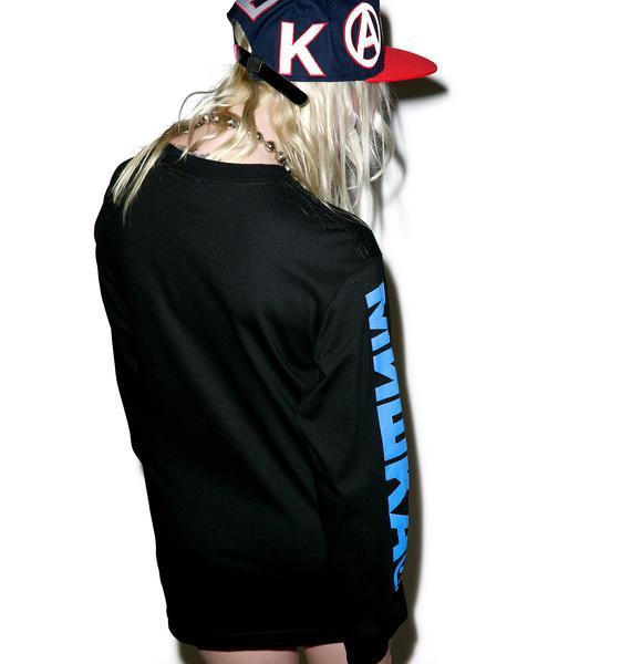 Mishka Varsity Keep Watch Baseball Hat