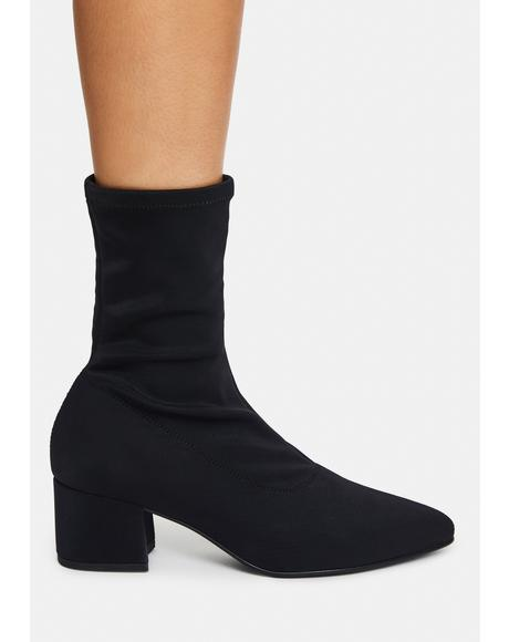 Mya Stretch Booties