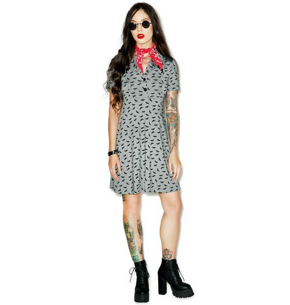 Sourpuss Clothing Bats Rosie Dress