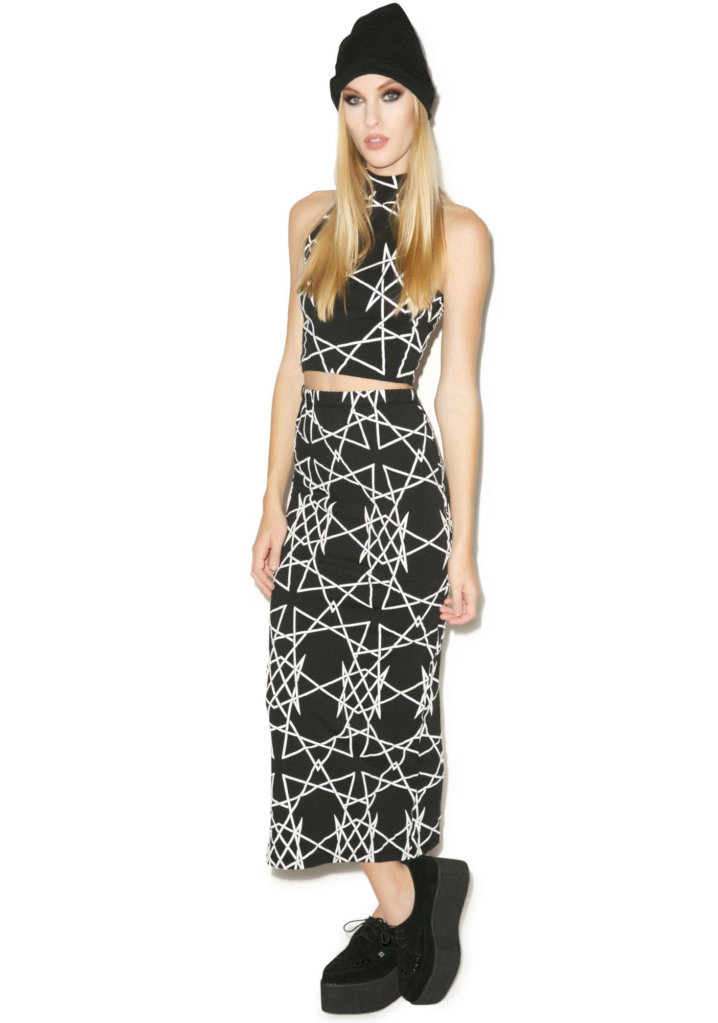 Long Clothing Infinity Skirt