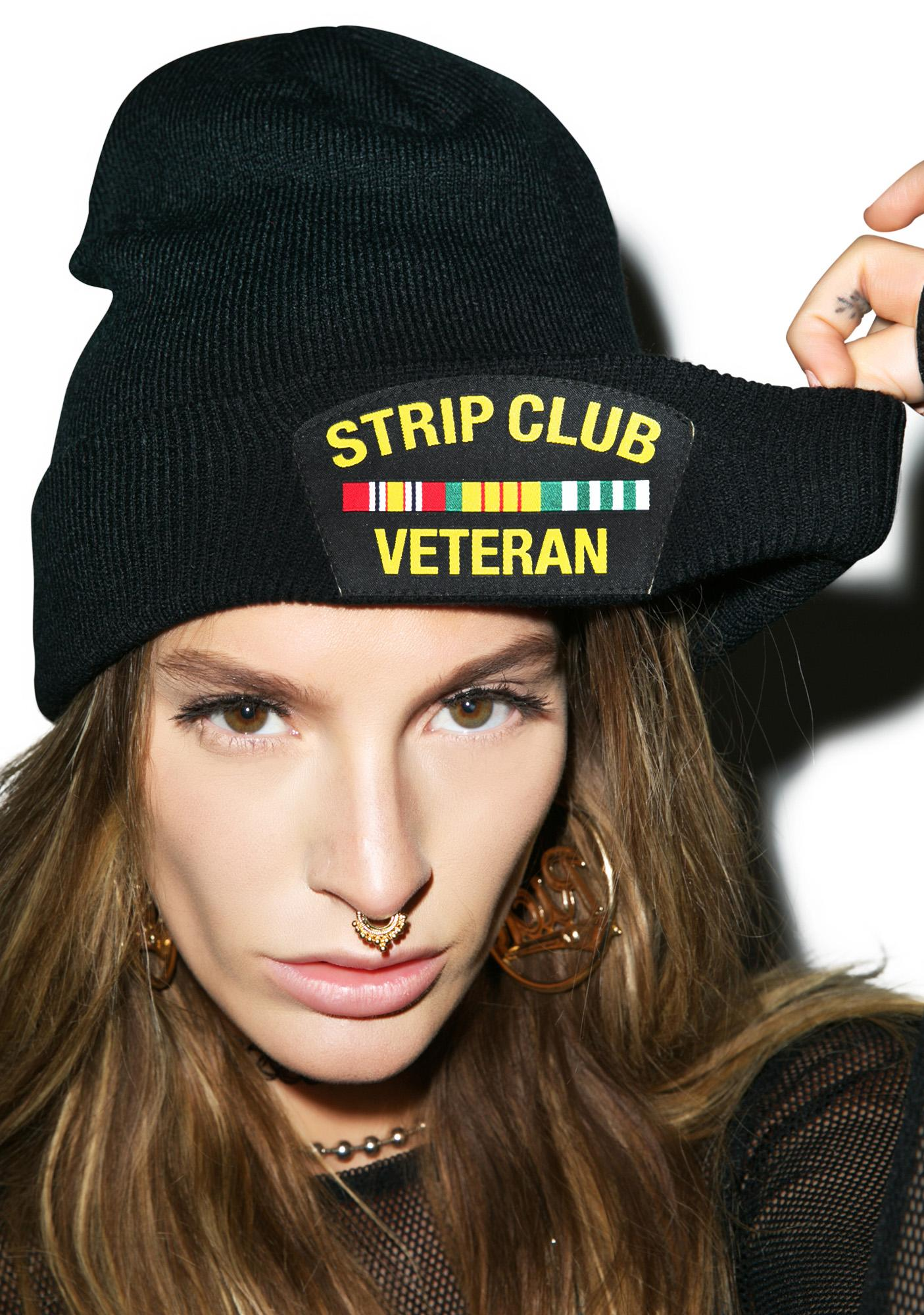 Reason Strip Club Veteran Beanie
