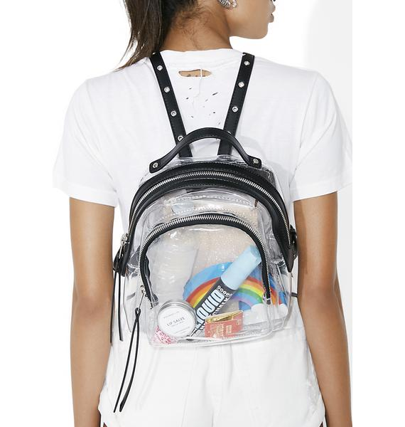Current Mood Clearly Jelly Backpack