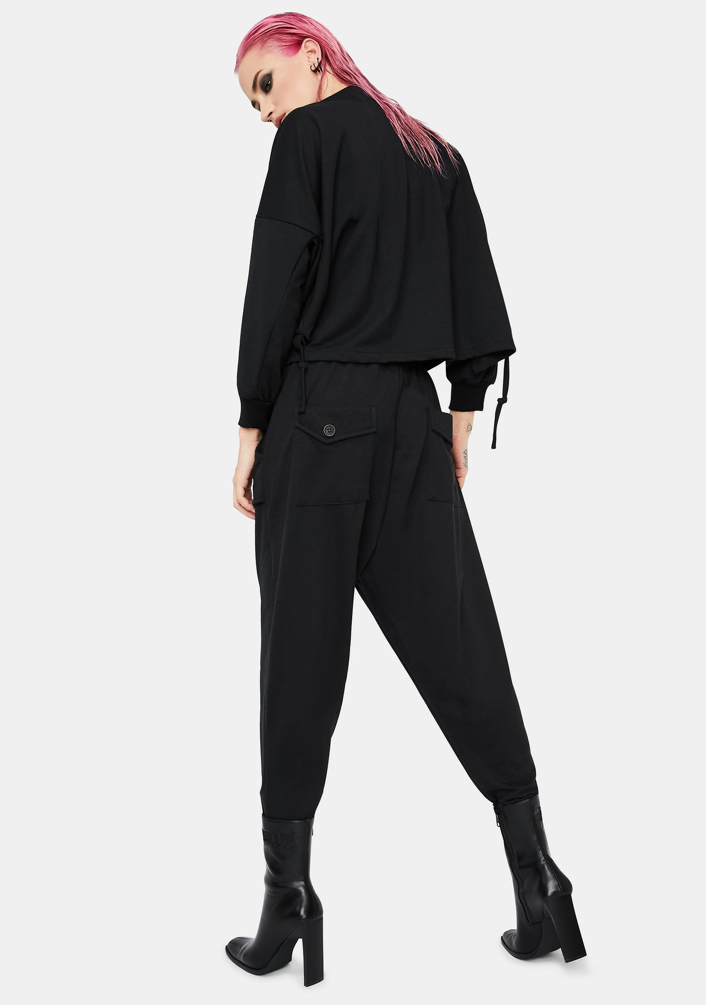 MNML Twisted Riddle Cargo Sweatpants