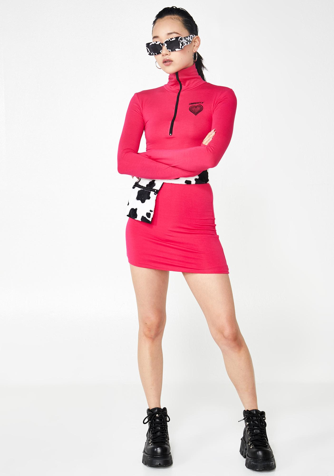 O Mighty Moo Moo Mini Dress