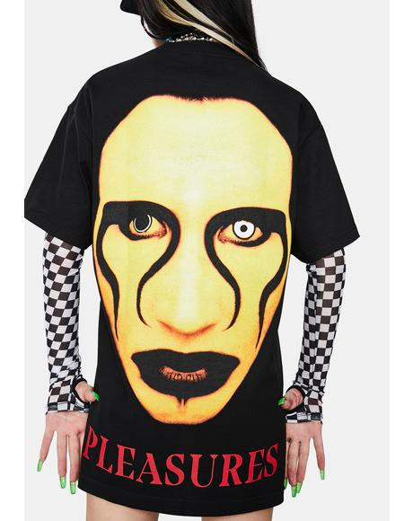 X Marilyn Manson Manson Graphic Tee