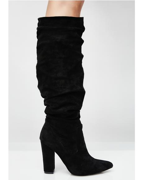 Beautiful Liar Scrunch Boots