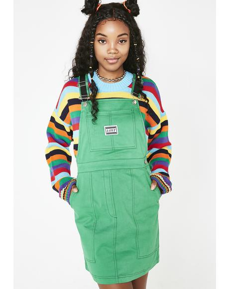 Emerald Service Dress