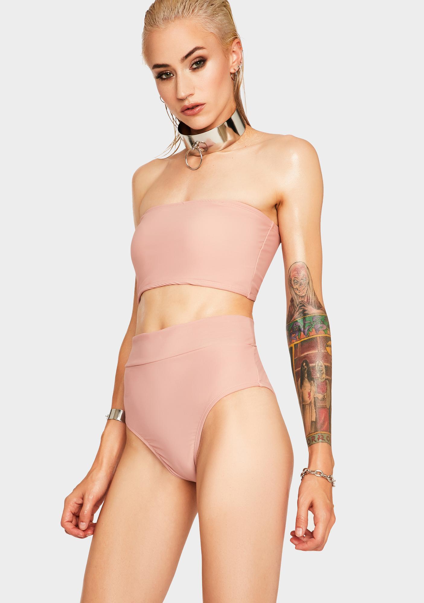 Rose Take A Trip Bikini Set
