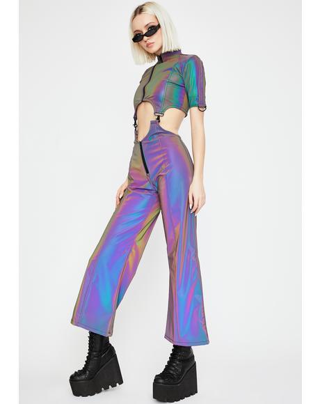 Plan 9 Rainbow Reflective Jumpsuit