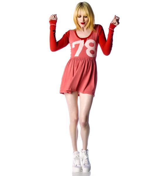 Rebel Yell 78 Babydoll Mini Dress