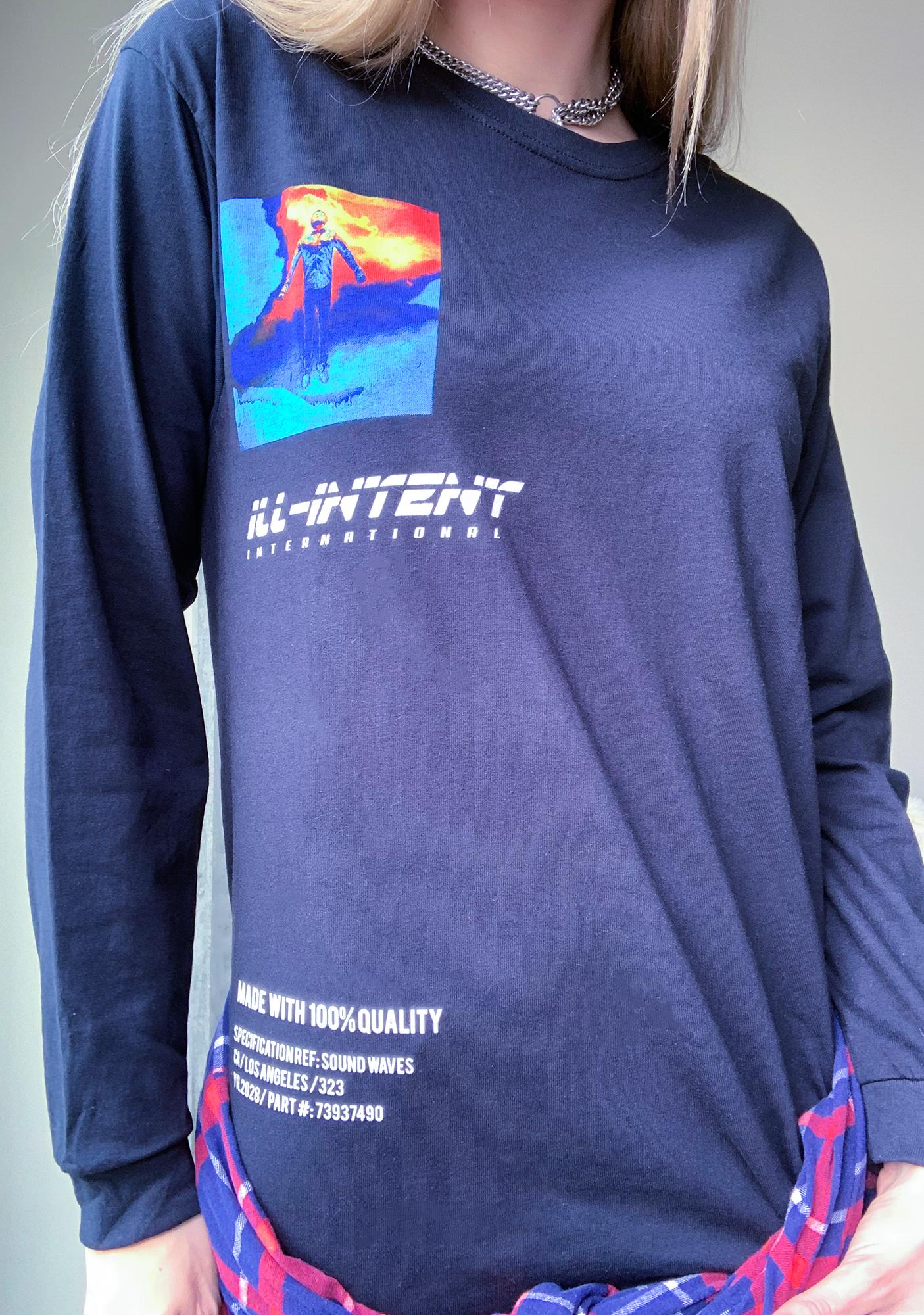 ILL INTENT Division Long Sleeve Graphic Tee