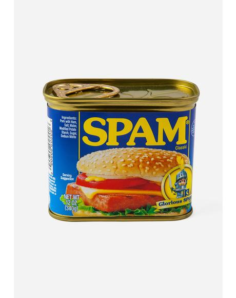 Spam Tin Container