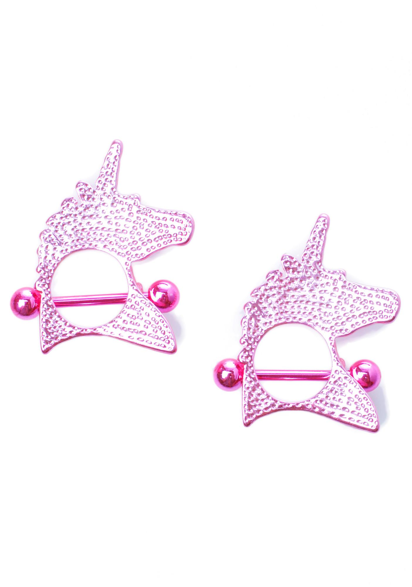 Unicorn Crush Nipple Ring Pack