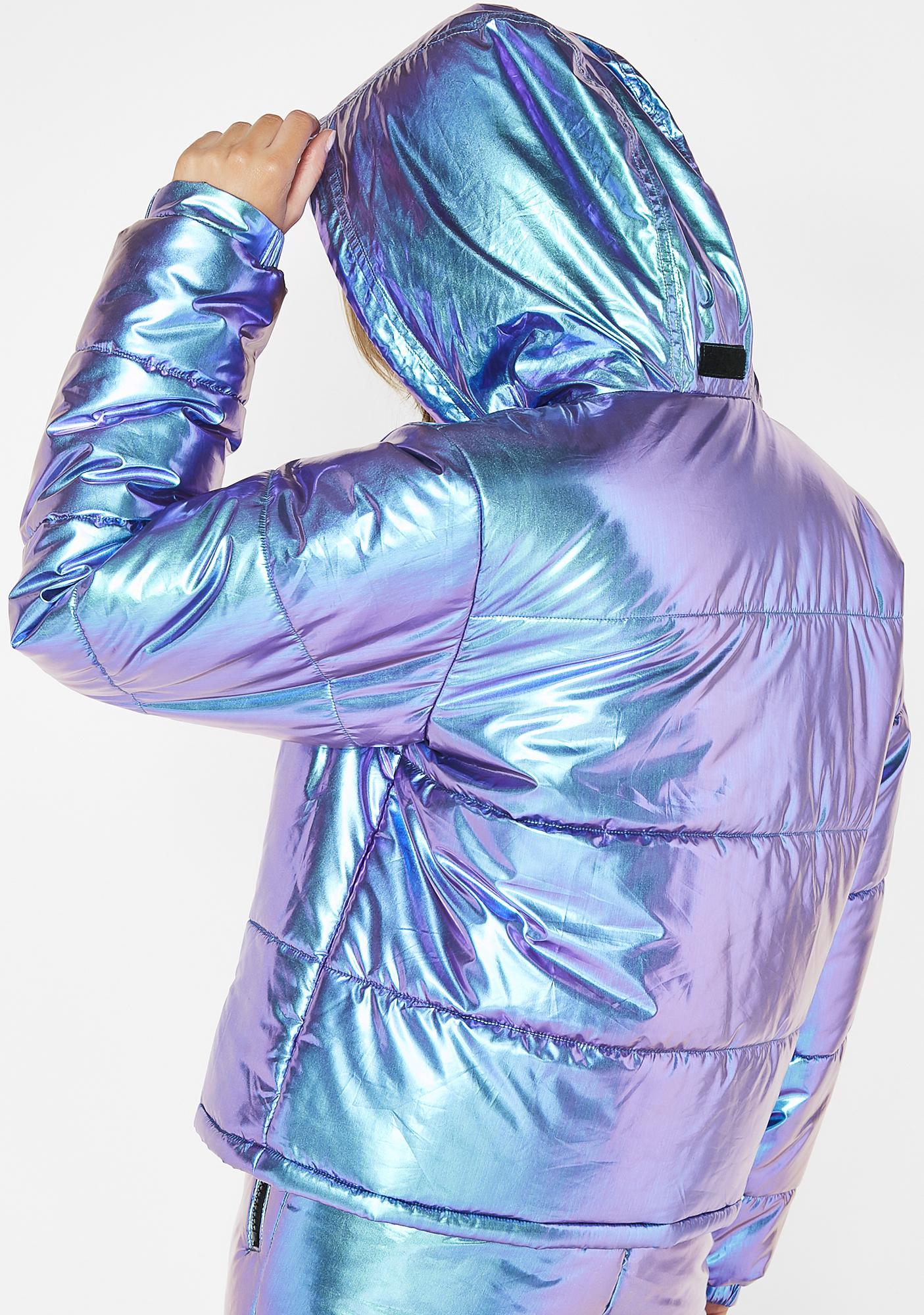Club Exx Space Bae Escapade Puffer Jacket